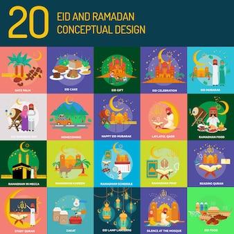 Projeto conceitual eid e ramadan