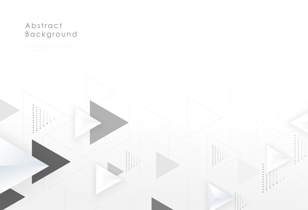 Projeto criativo do fundo gráfico geométrico abstrato do triângulo.