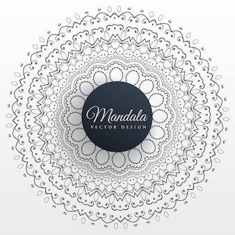 Projeto da arte do fundo da decoração da mandala