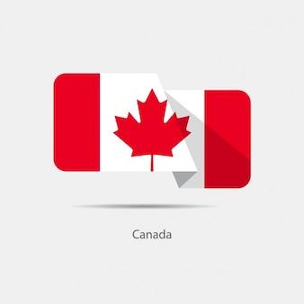 Projeto da bandeira de canadá