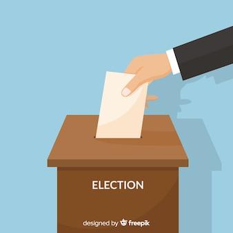 Projeto da caixa de eleição