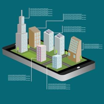 Projeto da cidade 3d