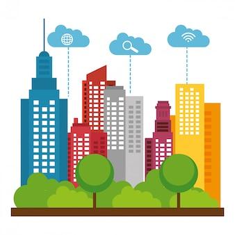 Projeto da cidade inteligente