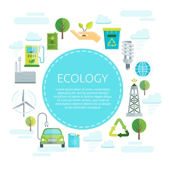 Projeto da ecologia da terra