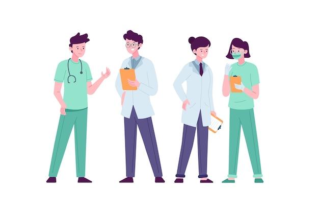 Projeto da equipe profissional de saúde
