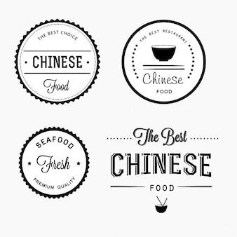 Projeto da etiqueta do alimento chinês