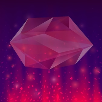 Projeto da forma poligonal abstract