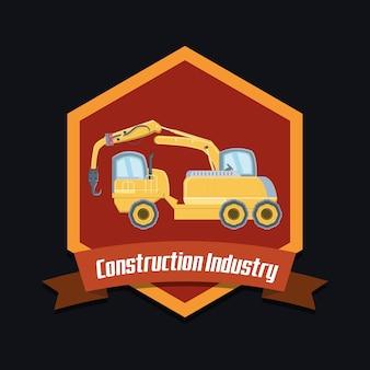 Projeto da indústria de construção