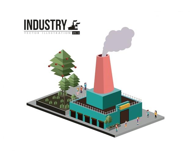 Projeto da indústria