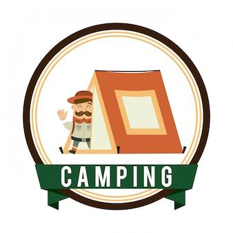 Projeto de acampamento