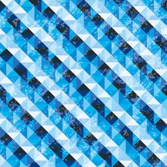 Projeto de água sobre ilustração em vetor fundo padrão