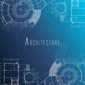 Projeto de arquitetura de fundo