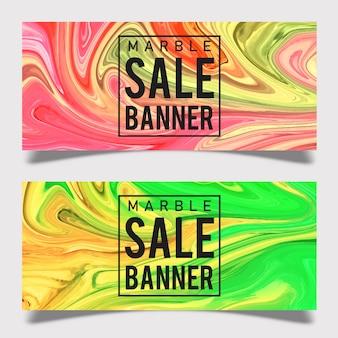 Projeto de Banner de venda de mármore