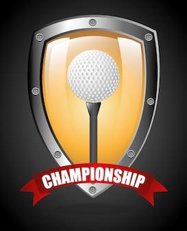 Projeto de campeonato de golfe