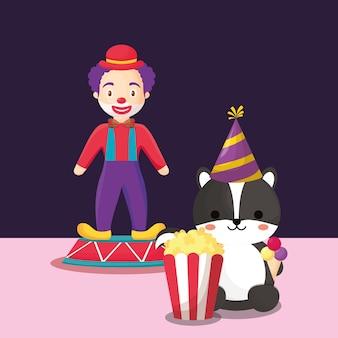 Projeto de carnaval de circo