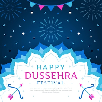 Projeto de celebração do evento dussehra
