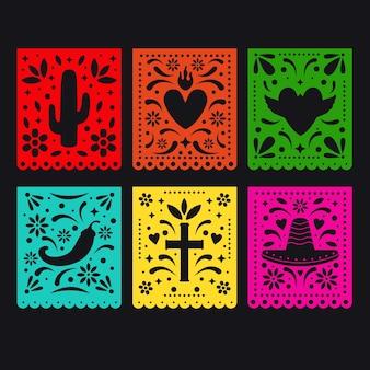 Projeto de coleção de estamenha mexicana