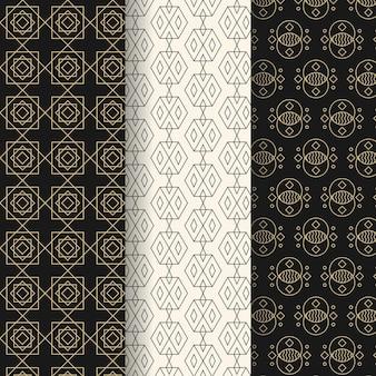 Projeto de coleção de padrão geométrico