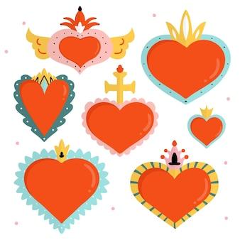 Projeto de coleção do coração sagrado