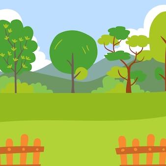 Projeto de coleção jardim vector