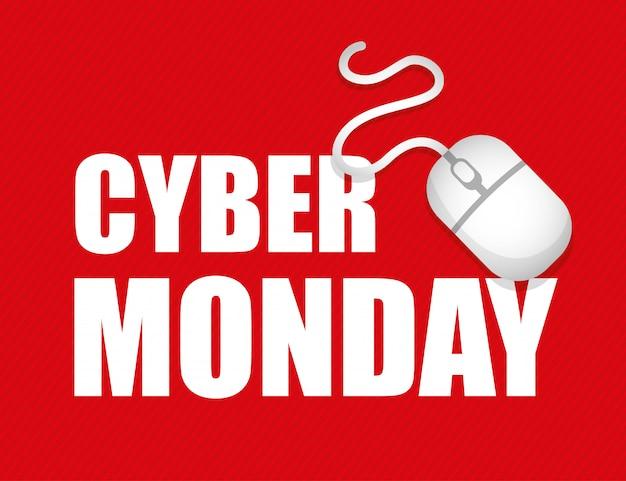 Projeto de comércio eletrônico do cyber segunda-feira