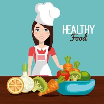 Projeto de comida saudável