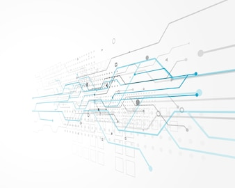Projeto de conceito abstrato tecnologia com malha de arame