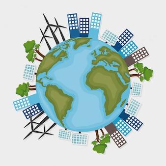 Projeto de conceito de ecologia