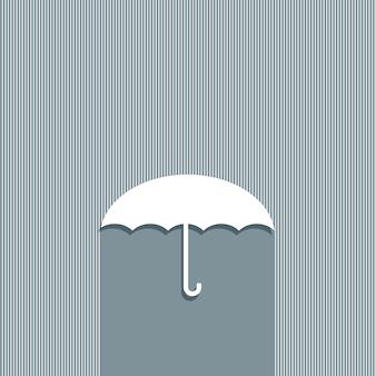 Projeto de conceito de guarda-chuva