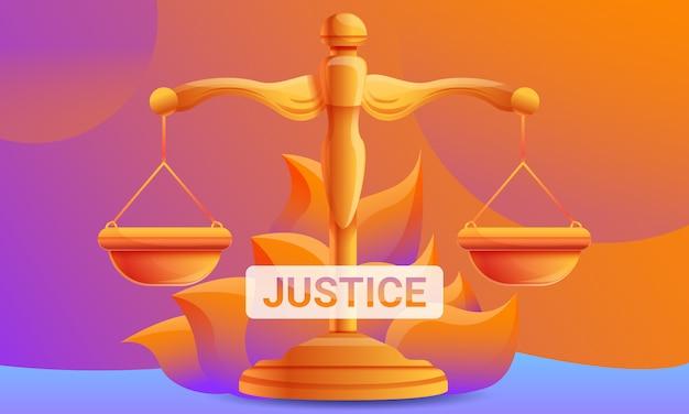 Projeto de conceito de justiça