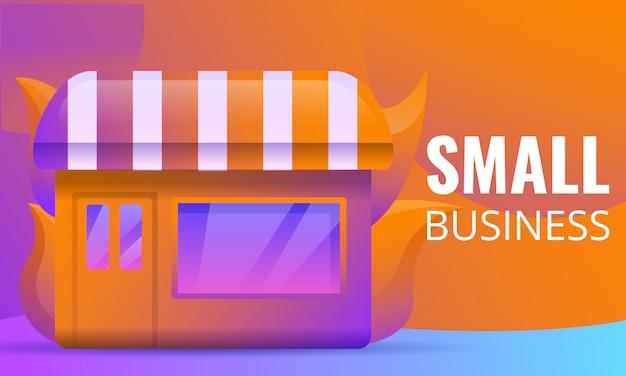 Projeto de conceito de pequena empresa