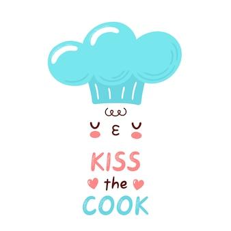 Projeto de conceito do kiss the cook