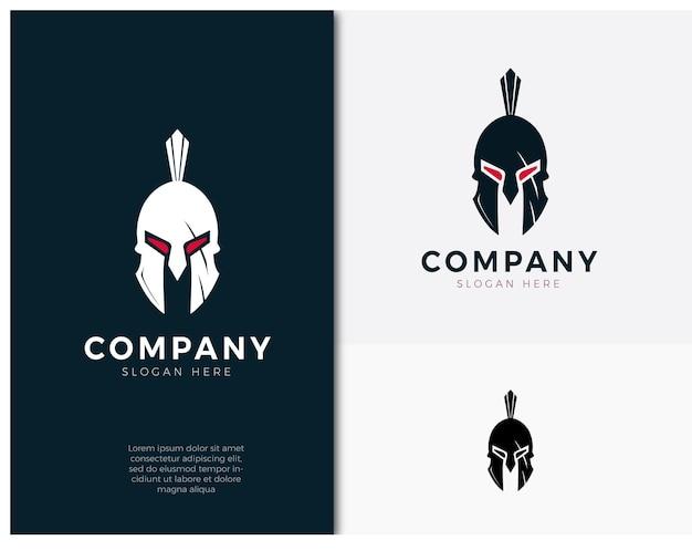 Projeto de conceito do logotipo da spartan