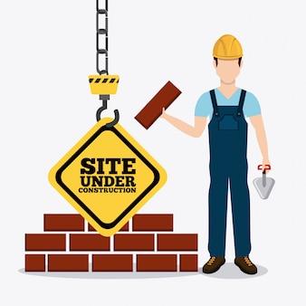Projeto de construção.