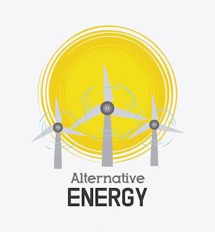 Projeto de ecologia de energia verde