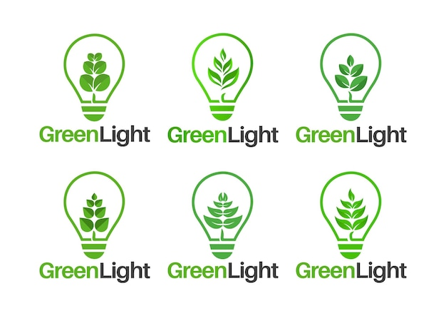 Projeto de elemento vetorial de folha verde