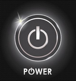 Projeto de energia. illuistration