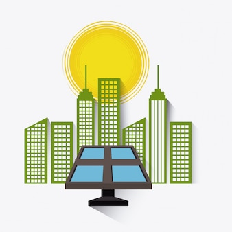 Projeto de energia solar.