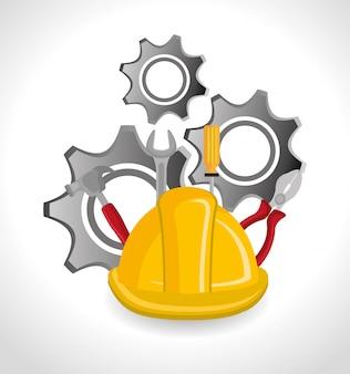 Projeto de equipamentos de construção