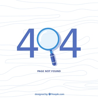 Projeto de erro 404 com lupa