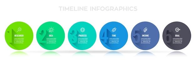 Projeto de etiqueta infográfico com opções