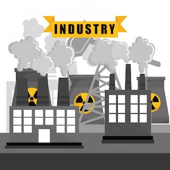 Projeto de fábrica, indústria e negócios