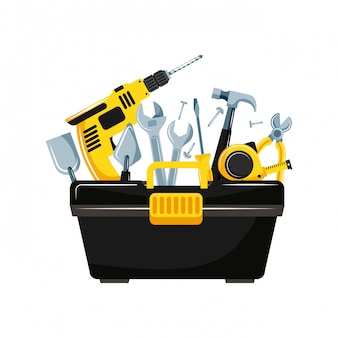 Projeto de ferramentas de reparo