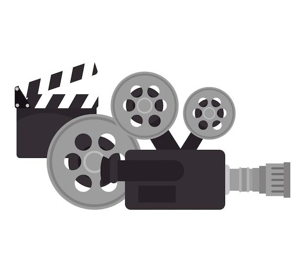 Projeto de filme do festival dos filmes de cinema dos desenhos animados