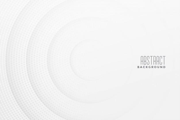 Projeto de fundo branco abstrato de meio-tom