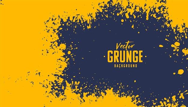 Projeto de fundo de textura de respingos de grunge