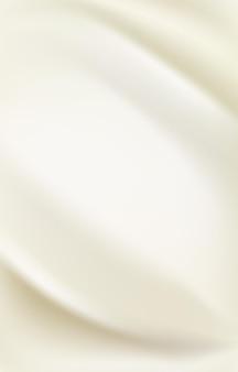 Projeto de fundo em tecido de cetim de seda pérola