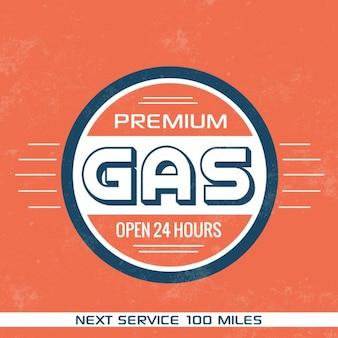 Projeto de gás estação fundo
