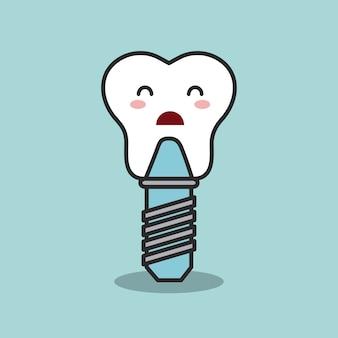 Projeto de higiene dental, ilustração vetorial eps10 gráfico