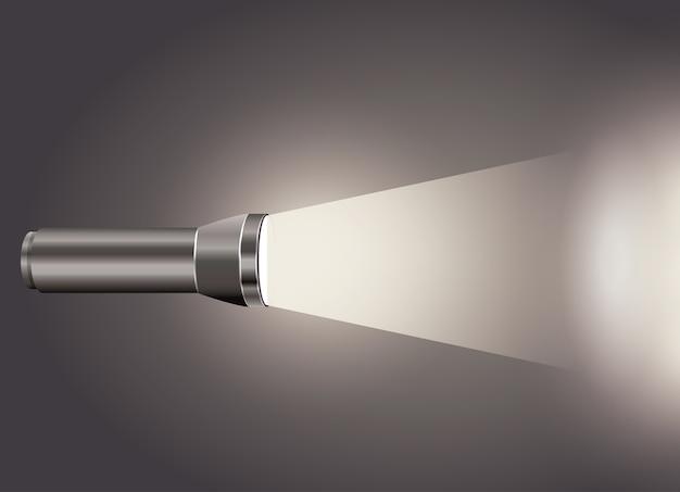Projeto de ícone de luz do flash